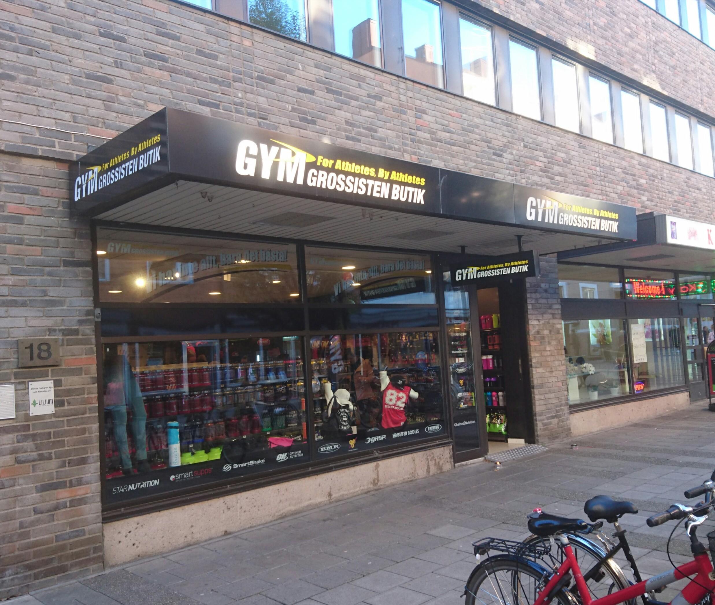 gymgrossisten butik linköping